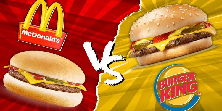 Mc Donalds Oder Burger King
